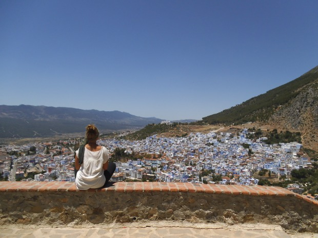 Just your average view of Chefchaouen
